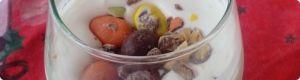 receta de cocina: Helado Mcflurri casero con caramelo