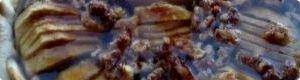 receta de cocina: Tarta de manzana y nueces