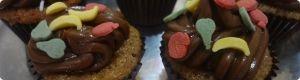 receta de cocina: Cupcakes de chocolate y naranja