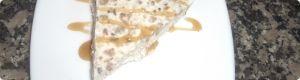 receta de cocina: Tarta helada de queso de cabra y nueces