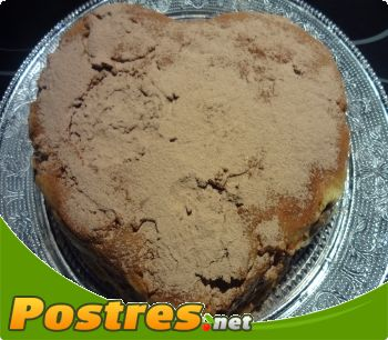 tarta corazon de galletas