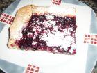 postre: Tarta de masa quebrada y frutas del bosque