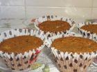 receta y postre: Magdalena de chocolate fondant con chocolate blanco en thermomix