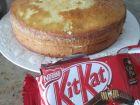 recetas, paso 5, tarta de kit kat de pepa pig
