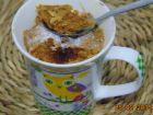 recetas, paso 2, bizcocho en una taza