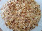 recetas, paso 6, tarta de almendras rellena de leche condesada