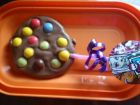 recetas, paso 2, piruletas de chocolate monster high