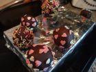 recetas, paso 9, cake pops de fresa