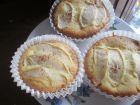 recetas, paso 3, magdalenas con manzanas