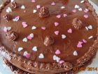 recetas, paso 7, tarta de chocolate y fresa