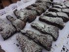 receta y postre: Bizcocho de galletas de chocolate rellena de crema de chccolate