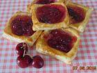 receta y postre: Tartaletas con cerezas
