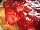 recetas, paso 5, tarta de queso con fresas para san valentin