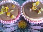 receta y postre: Magdalenas con chocolate y naranja