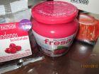 recetas, paso 1, gelatina de fresa con arandanos