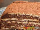 receta y postre: Tarta de Chocolate, Leche Condensada y Café