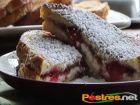 receta y postre: Tostadas Francesas rellenas de Mermelada