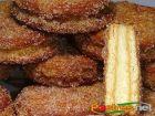 receta y postre: Galletas María fritas con Crema Pastelera
