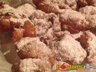 receta y postre: Buñuelos de Pera