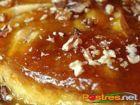 receta y postre: Flan de Manzana y Nueces