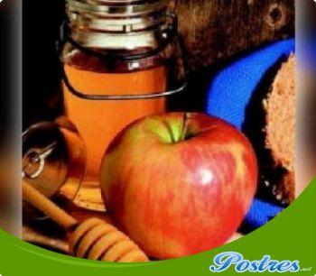 preparación de Postre de Manzanas a la miel