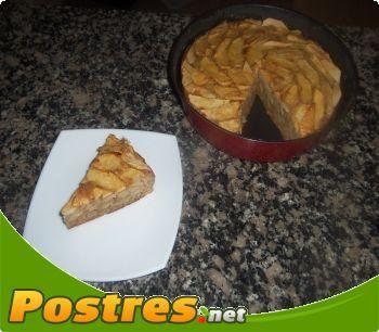 preparación de Postre de Tartita de manzana Integral