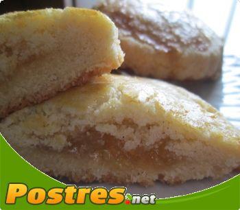 preparación de receta Tortas de manteca rellena de cabello de ángel