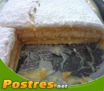 preparación de Postre de Pastelitos de ponche segoviano