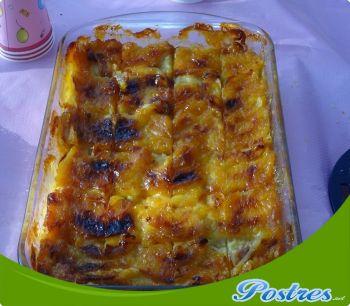 preparación de Postre de Tarta rápida de manzana