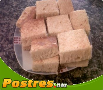 preparación de Postre de Pan de maíz