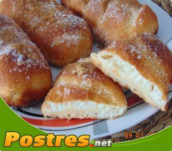 preparación de Postre de Torrijas con pan de leche