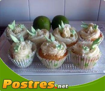 preparación de Postre de Cupcake de Mojito