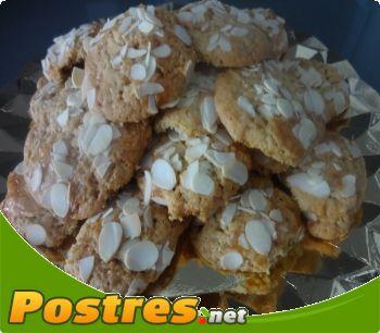 receta Pastas de almendras