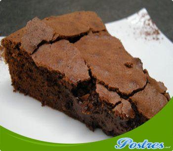 receta Postre de chocolate negro