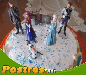 preparación de Postre de Tarta Frozen