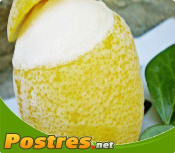 preparación de Postre de Limón helado