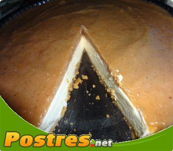 preparación de Postre de Tarta de queso y membrillo