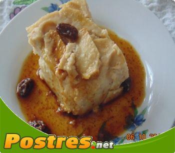 preparación de Postre de Pudin de manzana y canela