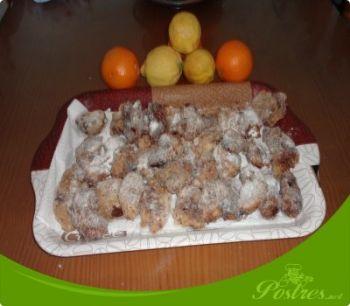 preparación de Postre de Leche frita con chocolate en thermomix