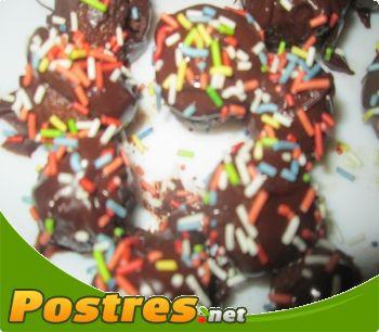 preparación de Postre de Bolitas de nutella