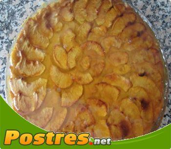 preparación de Postre de Tarta de manzana de mi pueblo
