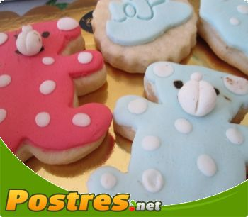 preparación de Postre de Como decorar galletas de mantequilla