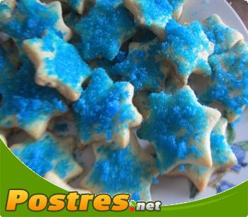preparación de Postre de Como hacer azúcar azul