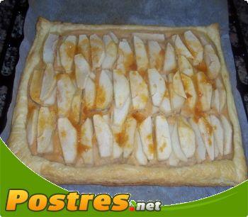 preparación de Postre de Tartaleta de manzana