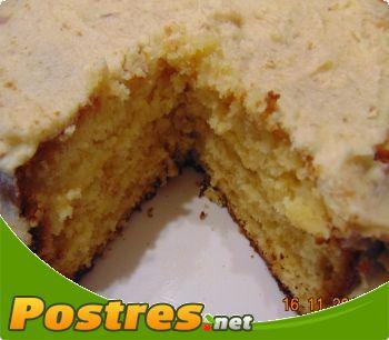 preparación de Postre de Tarta de naranja