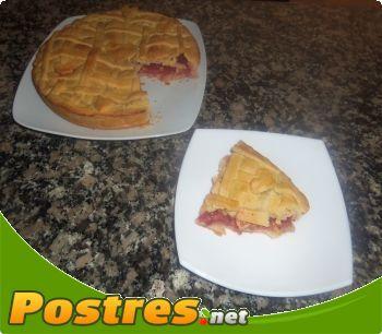 preparación de Postre de Pie de Fresas Americano