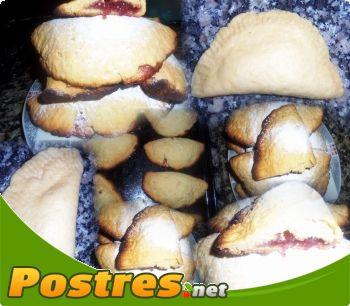 preparación de Postre de Robiols de mermelada de fresa