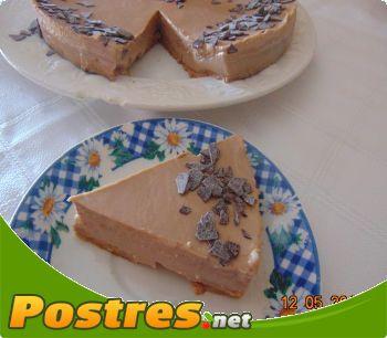 preparación de Postre de Tarta de queso con leche condesada