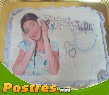 preparación de Postre de Tarta Violetta