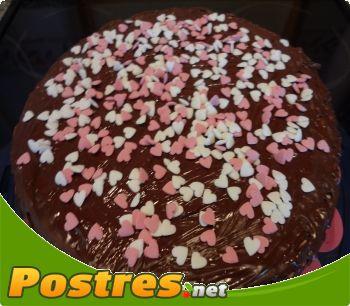 preparación de Postre de Fantasía de chocolate